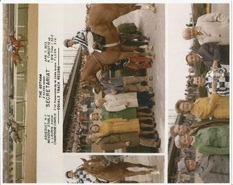 Secretariat Gotham Stakes win on April 7th, 1973 - 3 Photo Composite