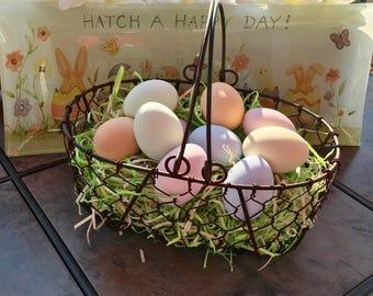 Ceramic Pastel Eggs