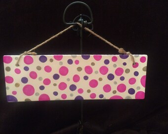 """Customized Name Plaque-11x4"""". Customized with Name"""