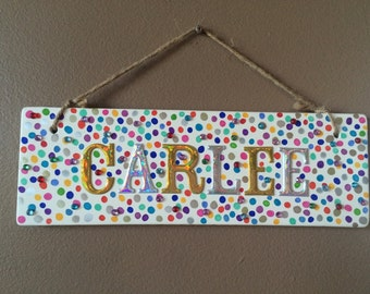 Name Plaque Wall Art-Customized name