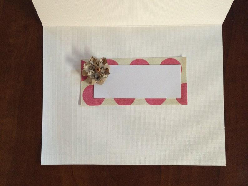 4 Pack Handmade Greeting Cards-4x6