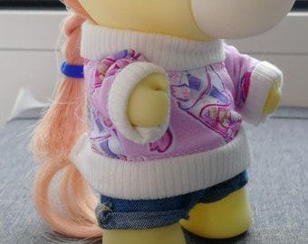 "Takara MLP miniature sweater - ""friends under the cherrytree"" -  Prototype"