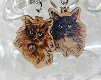 Birchwood pins - norwegian forest cats - Walter & Wilma