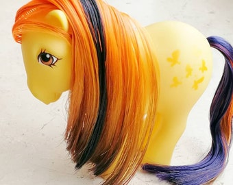 "Custom pony ""pumpkins and butterflies"""