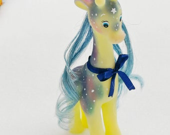 "Custom pony giraffe ""wish upon a shooting star"""