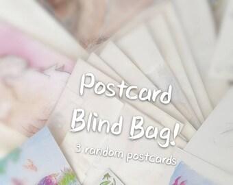 Postcard Blind Bags
