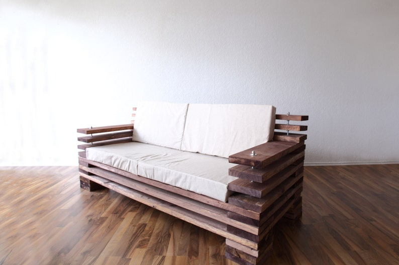 Design Sofa Made Of Wood In Your Favorite Colors Etsy