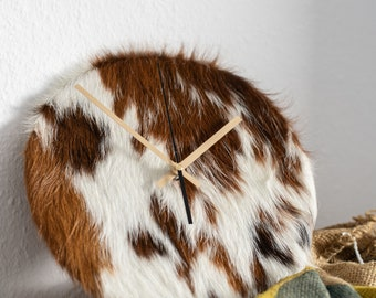 Beef fur clock (spotted)