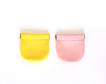 Squeeze Top Coin Purse - Sample Sale