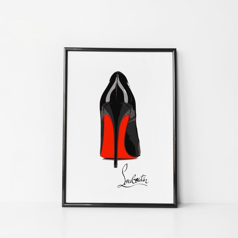 ff24f6d6c2 Christian Louboutin shoes Christian Louboutin heels fashion | Etsy