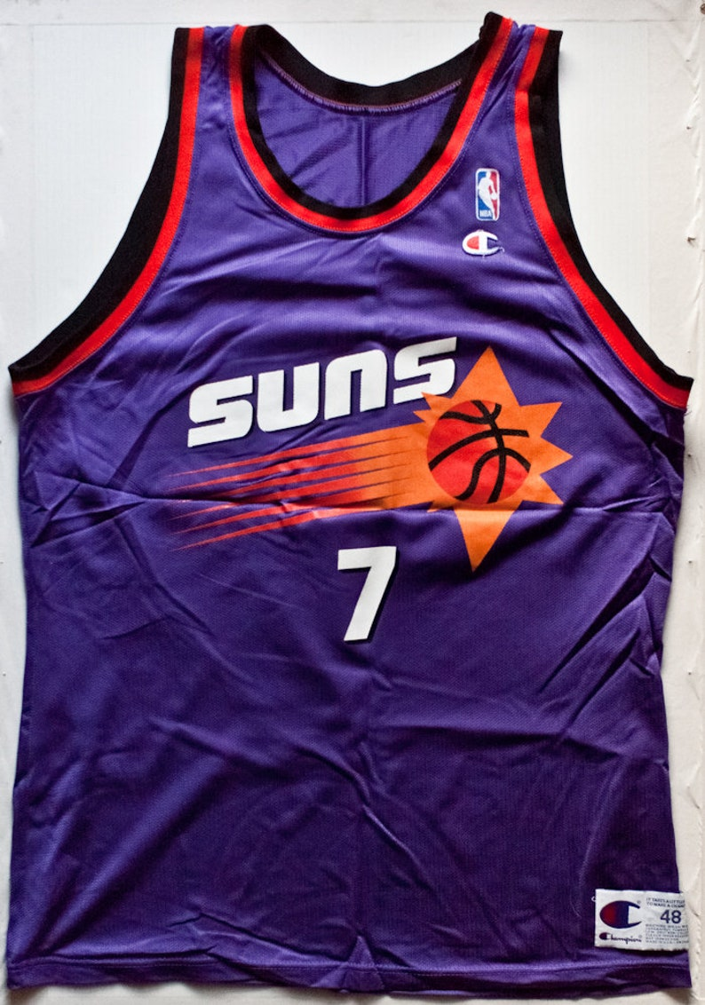 e211521a70d Kevin Johnson Phoenix Suns NBA Champion basketball jersey