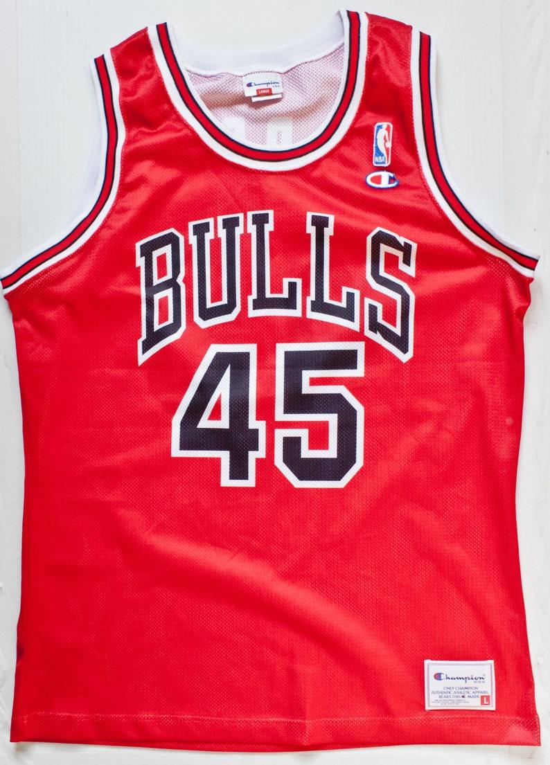 501a4afce186ab Michael Jordan Chicago Bulls NBA Champion basketball jersey