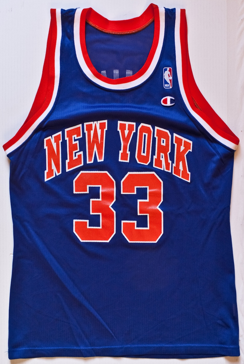 ade5943ca218 Patrick Ewing New York Knicks NBA Champion basketball jersey