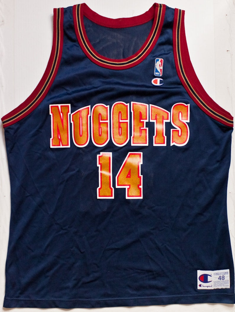 timeless design d6f5c f8790 Robert Pack Denver Nuggets NBA Champion basketball jersey very rare vintage