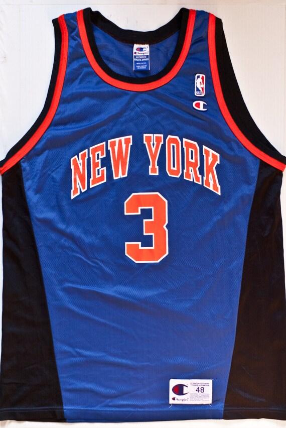 John Starks New York Knicks NBA Champion basketball jersey  97e2a02e1