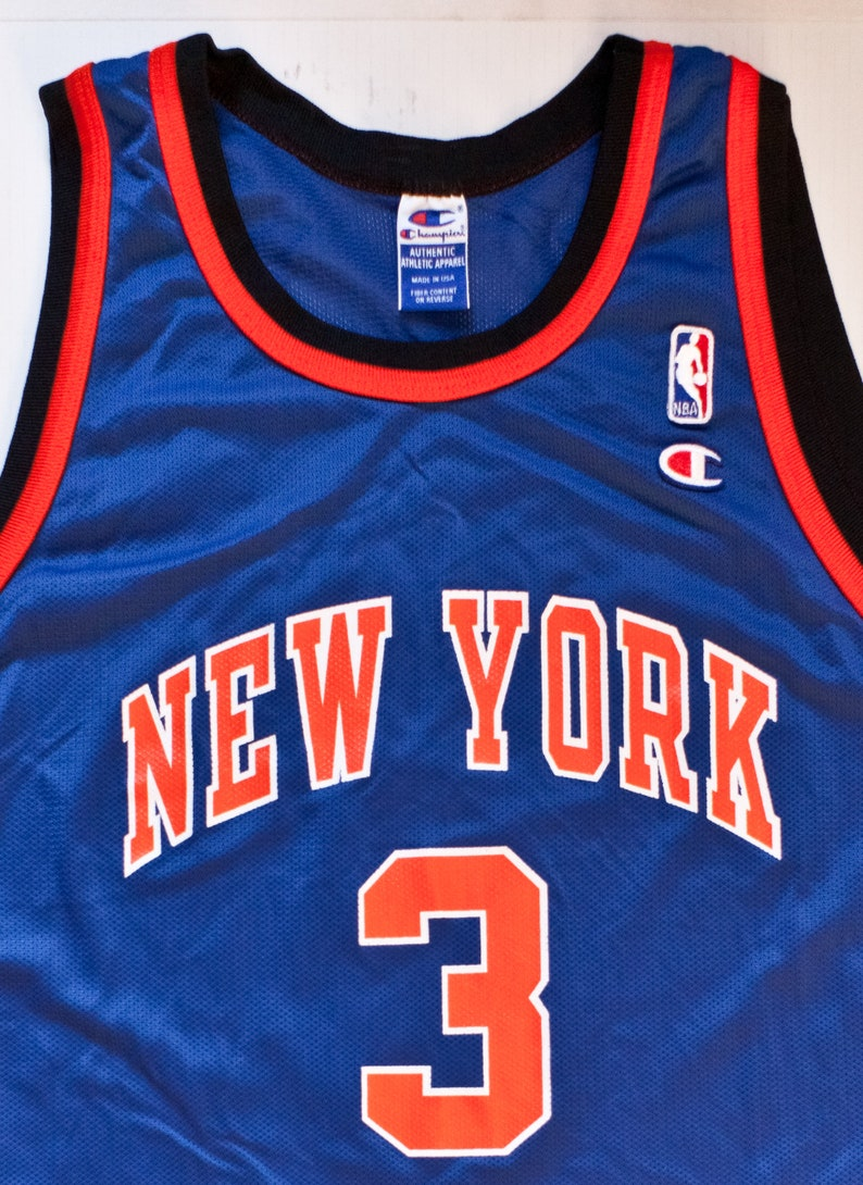 ac8d80861 John Starks New York Knicks NBA Champion basketball jersey