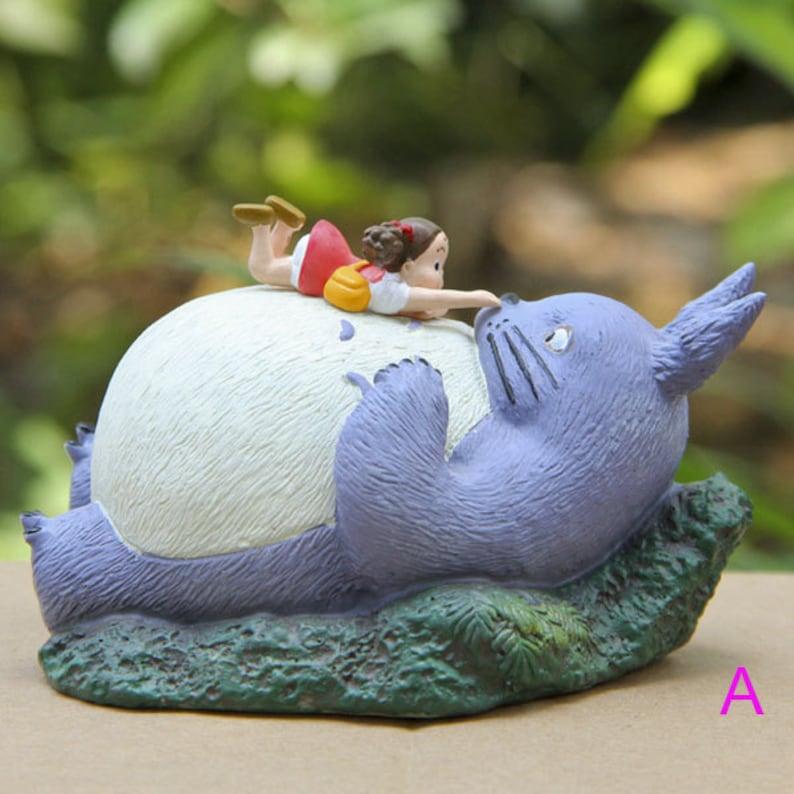 A Set 4 Totoro Terrarium Material Accessories Ghibli Studio  4feb7c1d383c