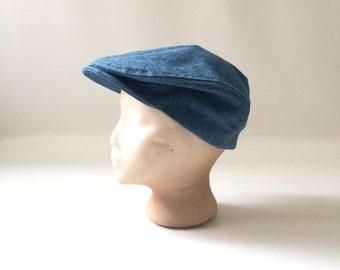 ea43daf9 Vintage Denim Newsboy Hat