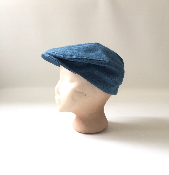 Vintage Denim Newsboy Hat  a45f8b72eadc