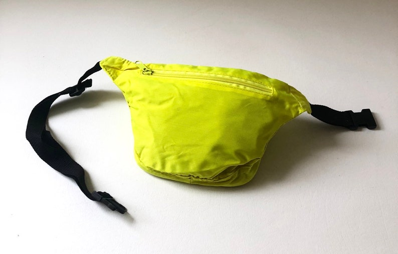Vintage Neon Yellow Fanny Pack