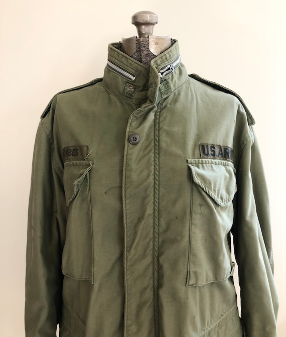 Vintage Green US Army Coat
