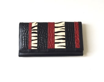 Retro Womens Leather Rolfs Wallet