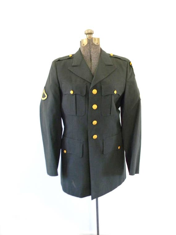 Vintage US Army Dress Coat