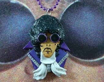 Prince pendant/necklace Purple Rain era.