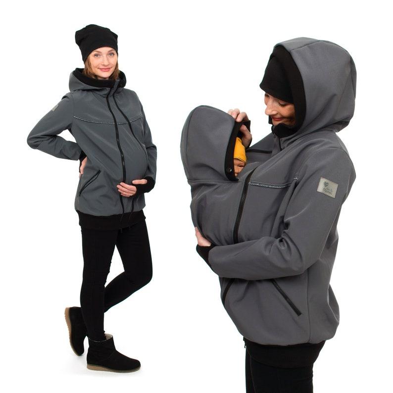 8269f4d195fe0 Softshell babywearing jacket baby carrier coat allweather baby | Etsy