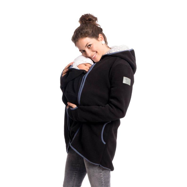 54bea4ddcab2d Fleece babywearing jacket 3in1 baby carrier hoodie maternity | Etsy