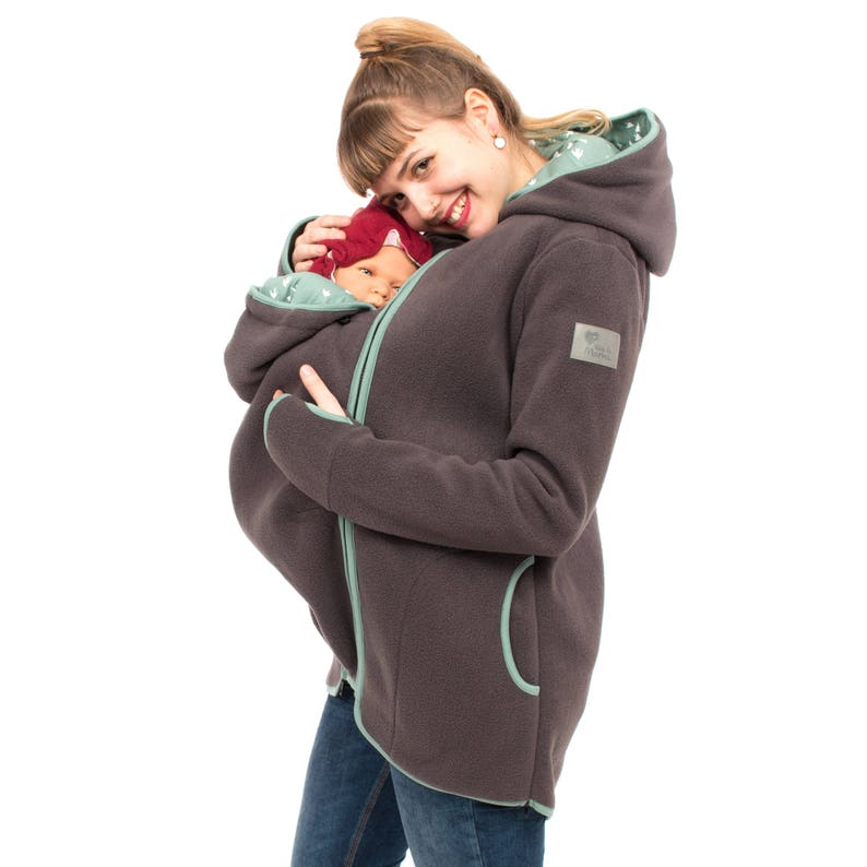 8d8a0a03b Baby wearing jacket fleece 3in1 baby carrier jackets maternity