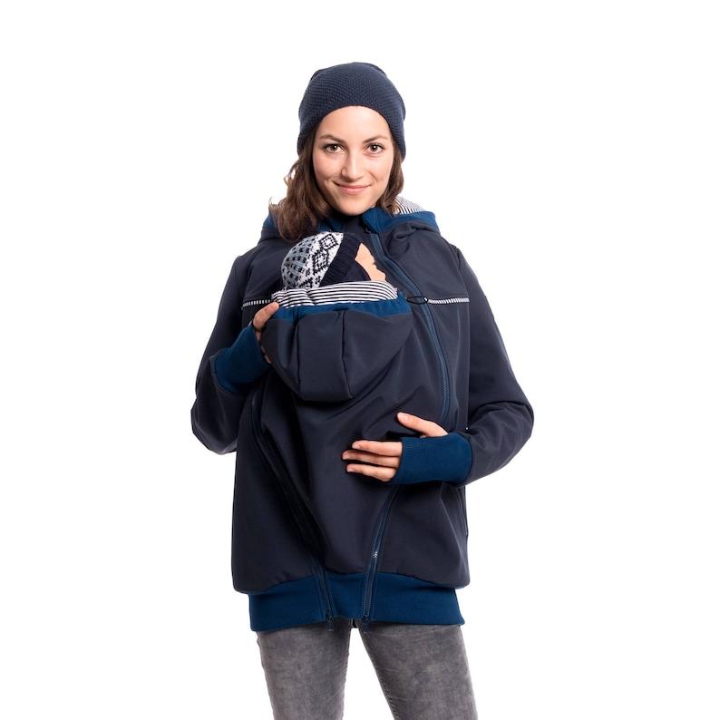 eb24c9d9cb176 Outdoor jacket softshell baby carrying coat babywearing | Etsy