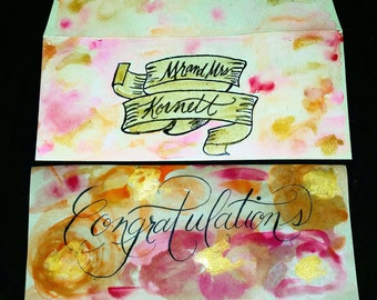 Custom Watercolor Cards
