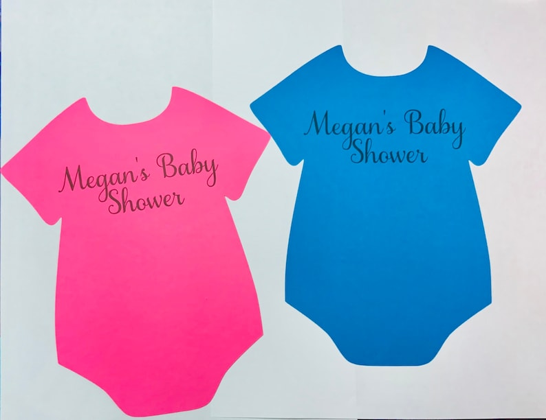 10 Large Baby Onesie Personalized Baby Shower Onesie Onesie Etsy