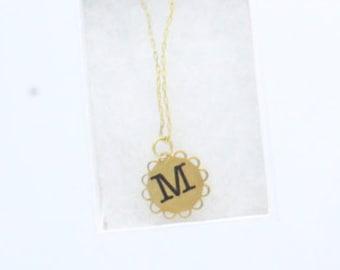 Letter Necklace for Toddler, Girl, Teen