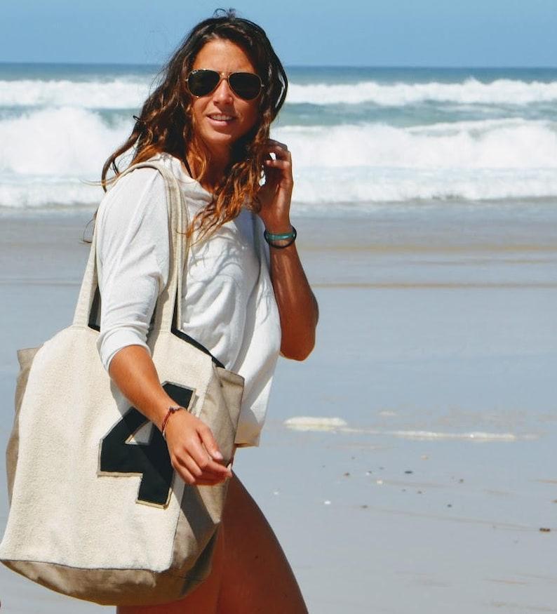 large Tote bag BIG 4 XL beach bag City French Bag Big cotton Boho bag Big Tote Natural Cotton Travel Bag Weekender bagwork Bag.