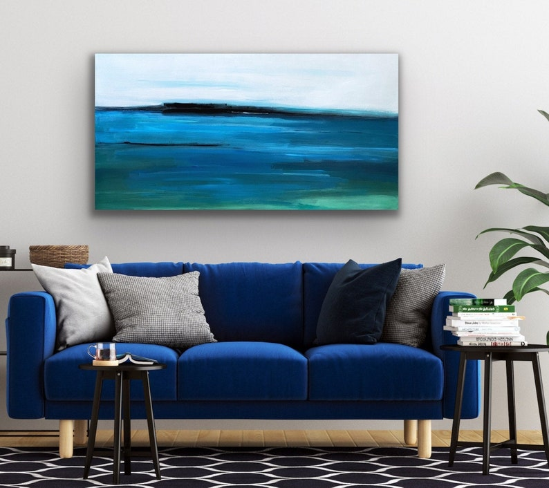 Original Landscape Painting Abstract Art Abstract Landscape image 0