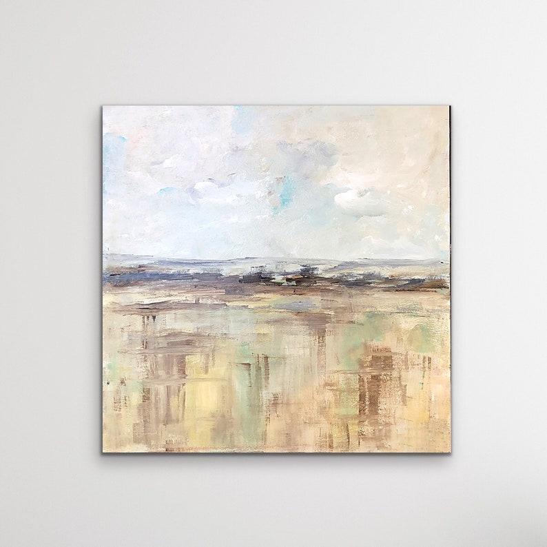 Abstract Landscape Landscape Art Badlands Fine Art Print image 0