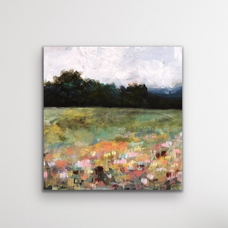 Monet Painting Giverny Gardens Impressionism Wild Flowers image 0