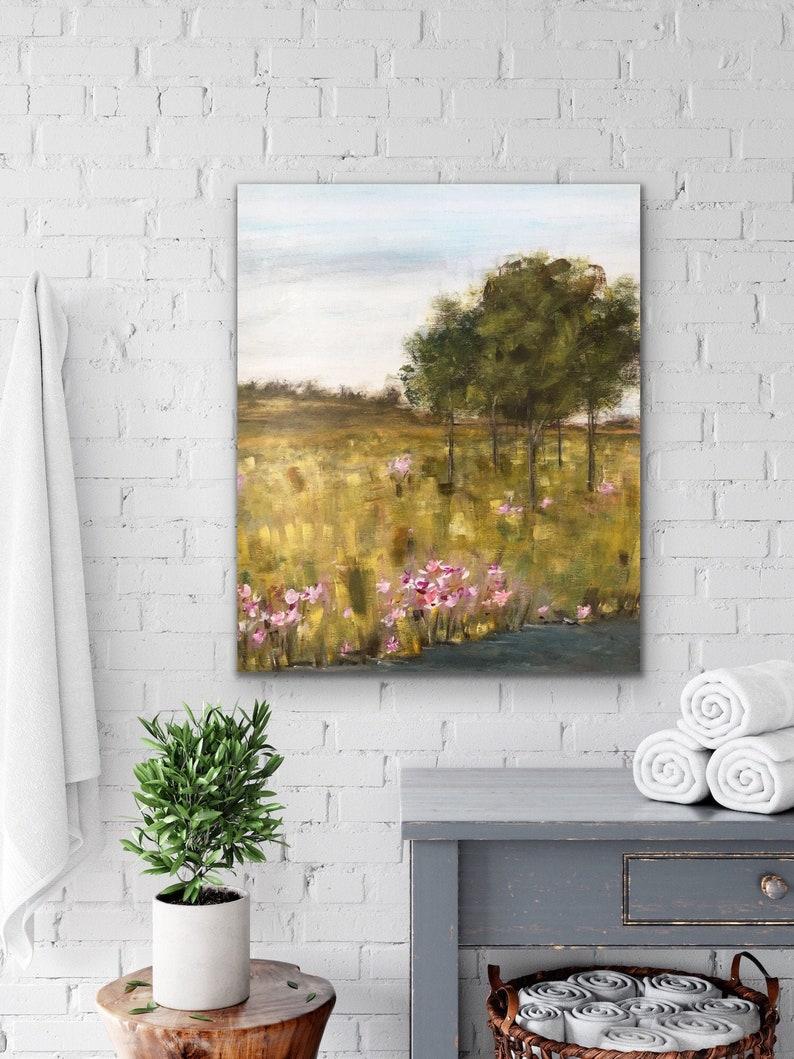 Landscape PaintingImpressionism Monet Metal Print Metal image 0