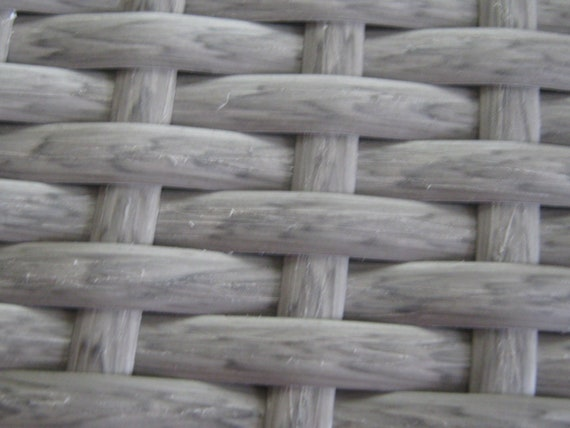 1meter Wicker Repair Rattan Braid WHITE WAVED for chairs //table 3.28ft etc.