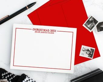 Dear Santa Card with Envelope