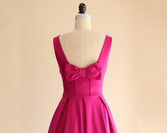 d7957b760d4 Fuchsia pink dress