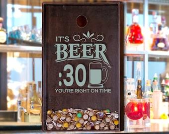 24x36 Beer Bottle Cap Holder - Wall Decor  / Beer Decor / Man Cave / Craft Beer / Beer Sign