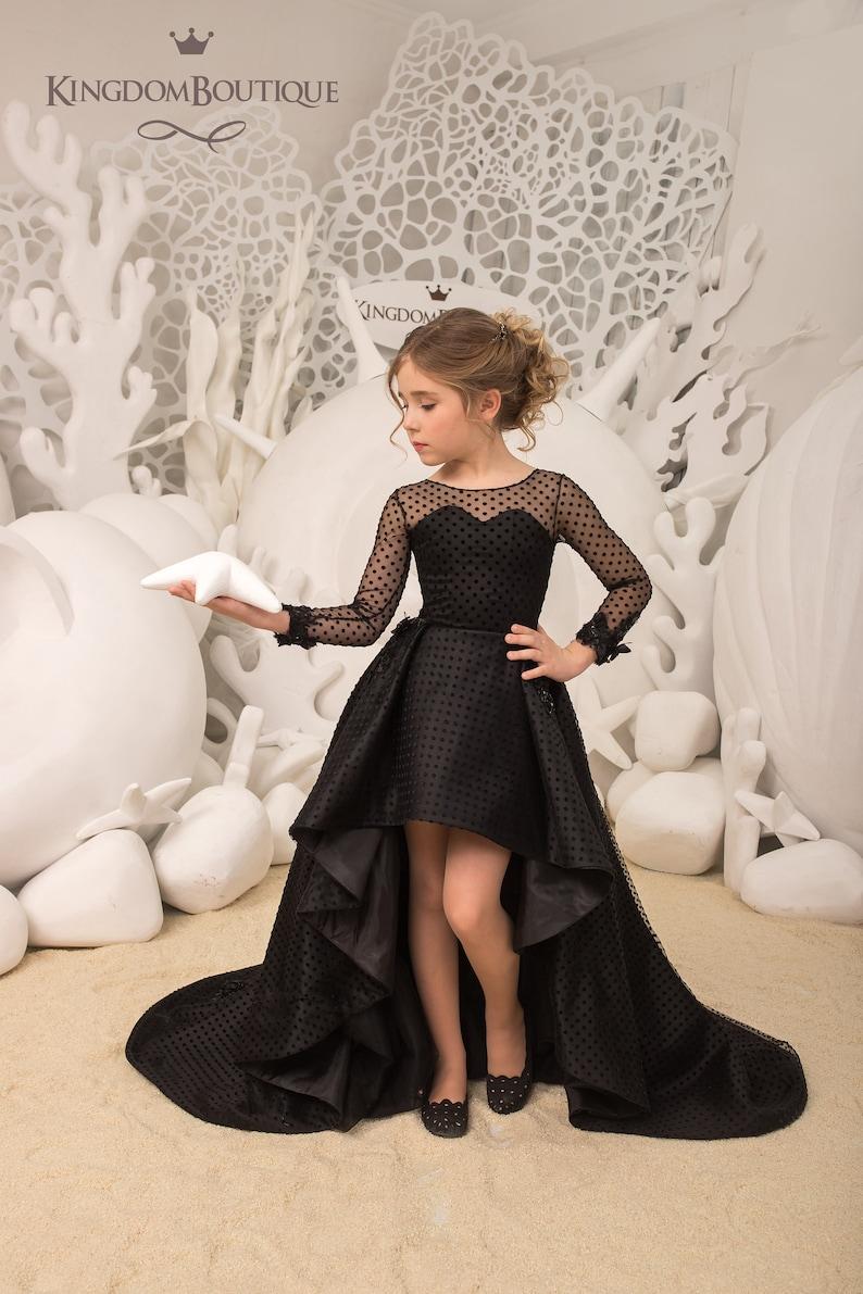 2f1a803cf67 Black Flower Girl Dresses