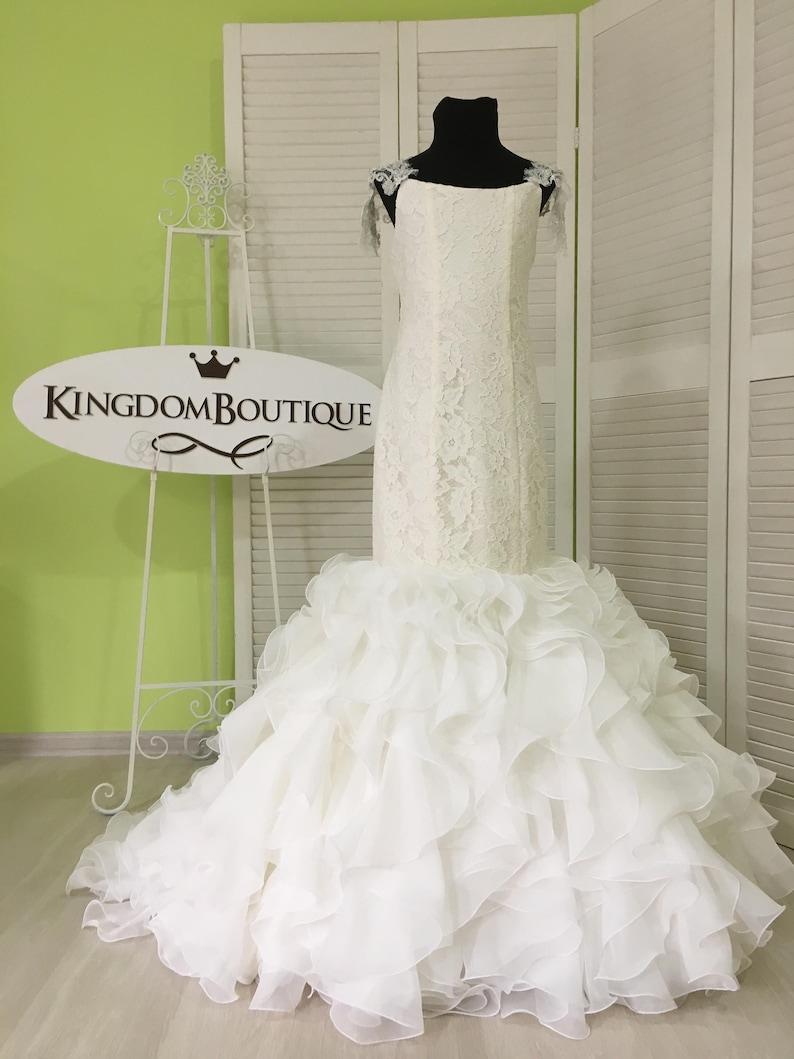 8133a49edb6 Ivory Flower Girl Mermaid style Dress Wedding Party