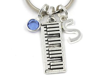Electronic Keyboard Key Ring 2f121b334590