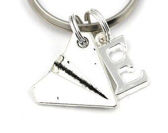 1D Paper Airplane Key Ring 545a3fb31