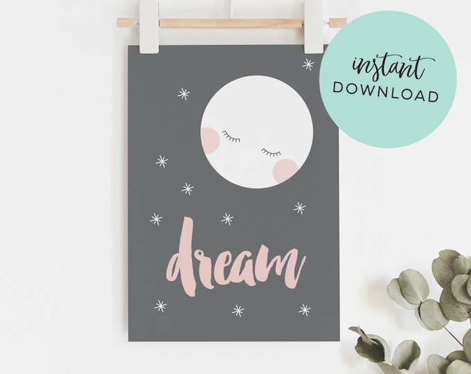 Dream Instant download Art Print