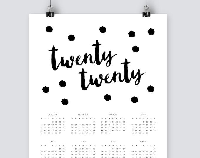 Spotty 2020 Calendar